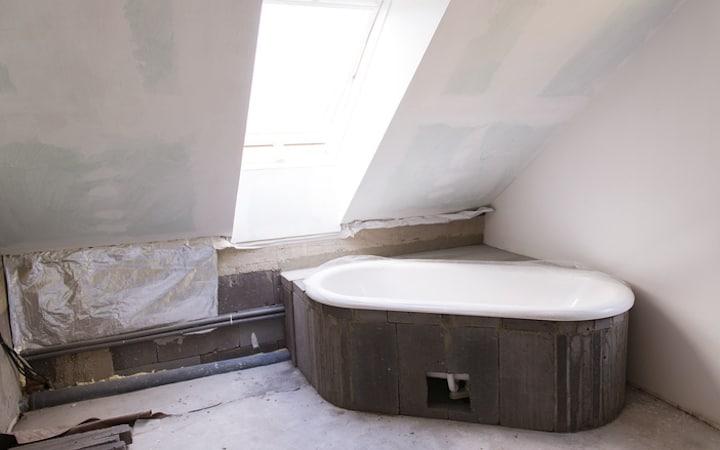 4xABA Gyproc voor plafond badkamer