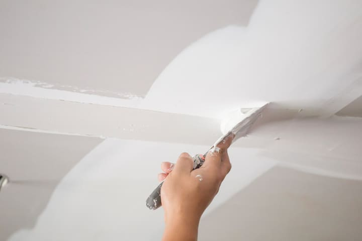 Gyproc plafond plaatsen: werkwijze