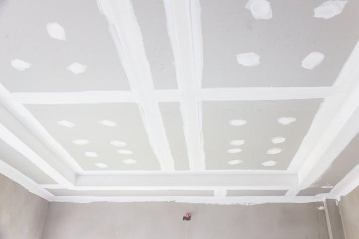 Voorbeeld van een Gyproc plafond